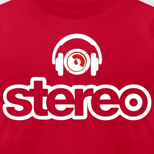 stereo head T-Shirts - Men's T-Shirt by American Apparel