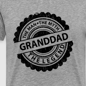 Granddad-The Man The Myth The Legend T-Shirts - Men's Premium T-Shirt