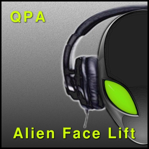 Alien Face Lift Digital Artwork