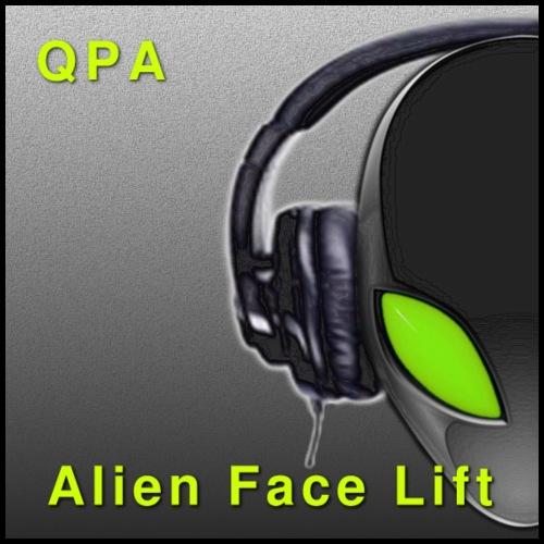 Alien Face Lift Digital Artwork