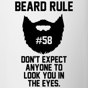 Beard Rule 58 Mugs & Drinkware - Contrast Coffee Mug