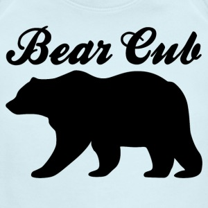 Bear Cub - Short Sleeve Baby Bodysuit