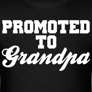 Promoted To Grandpa - Men's T-Shirt