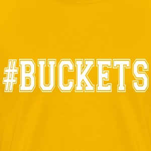 #Buckets basketball t-shirt s-5xl - Men's Premium T-Shirt