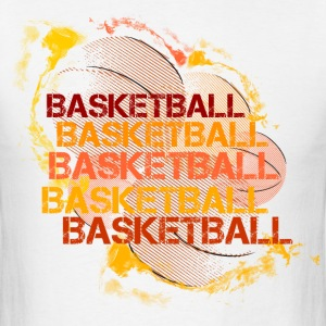 basket-basketball-usa T-Shirts - Men's T-Shirt