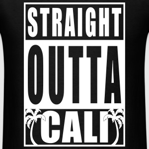 Straight Outta Cali T-Shirts - Men's T-Shirt