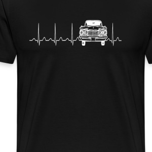 Heart Car - Men's Premium T-Shirt