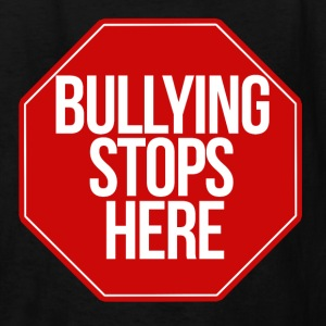 Bullying stops here - Kids' T-Shirt