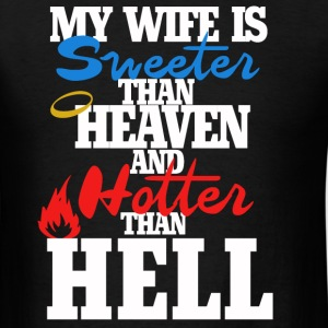 Hot wife  - Men's T-Shirt