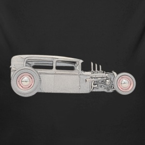 1930 Ford Rat Rod - Long Sleeve Baby Bodysuit