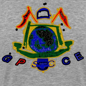 GP Blue Multi Polo Crest T-Shirts - Men's Premium T-Shirt
