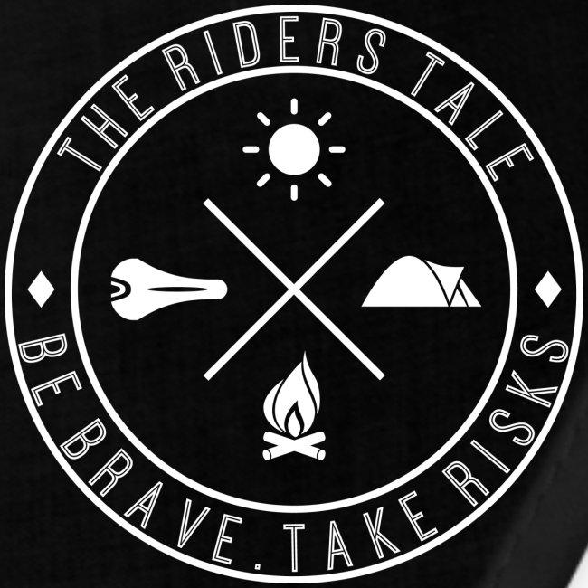 Be Brave. Take Risks. Bandana (BLACK)