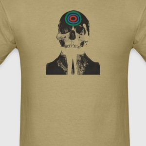 Fingerprint Skull - Men's T-Shirt