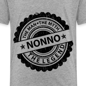 Nonno-The Man The Myth The Legend  Baby & Toddler Shirts - Toddler Premium T-Shirt