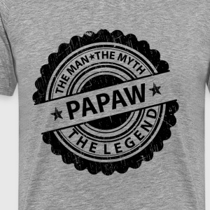Papaw-The Man The Myth The Legend T-Shirts - Men's Premium T-Shirt