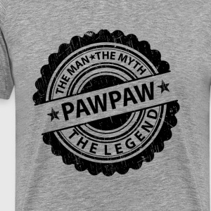 Pawpaw-The Man The Myth The Legend T-Shirts - Men's Premium T-Shirt