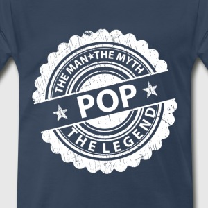 Pop-The Man The Myth The Legend T-Shirts - Men's Premium T-Shirt