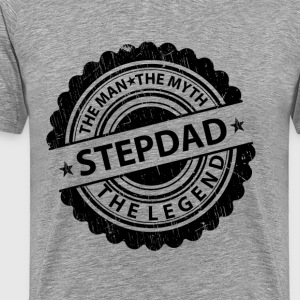 Stepdad-The Man The Myth The Legend T-Shirts - Men's Premium T-Shirt