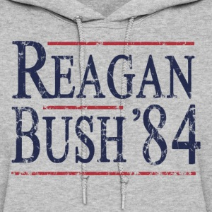 Retro Reagan Bush '84 Election - Women's Hoodie