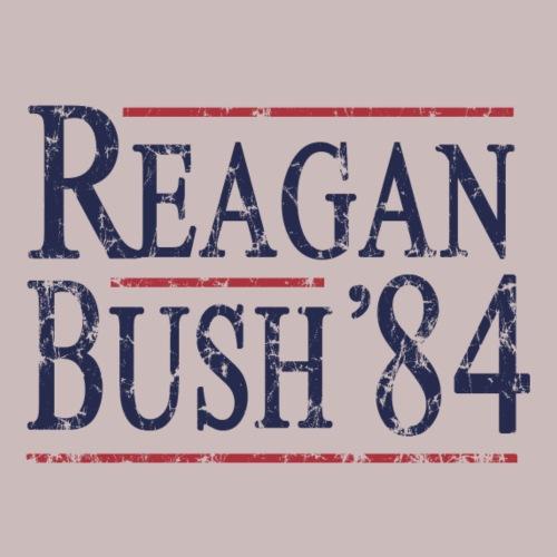 Reagan Bush 84 Retro Fade