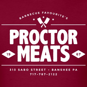 Proctor Meats - Men's T-Shirt