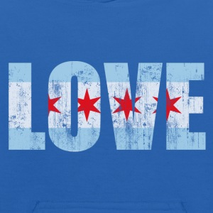 Chicago Love Vintage Fade Sweatshirts - Kids' Hoodie