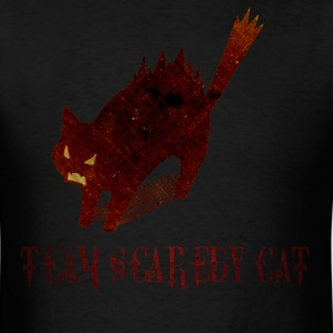 Team Scaredy Cat - Men's T-Shirt