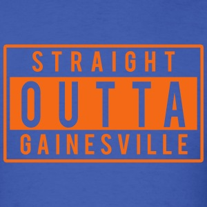 Straight Outta Gainesville T-Shirts - Men's T-Shirt