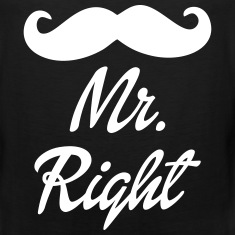 Mr. Right Tank Tops