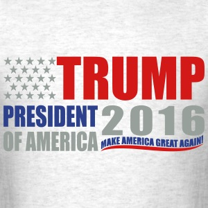 Trump for President USA T-Shirts - Men's T-Shirt