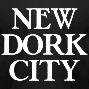 New Dork City T-Shirts - Men's T-Shirt by American Apparel