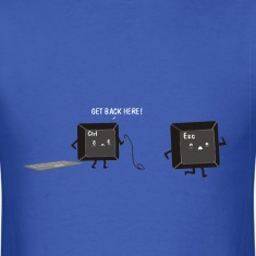 Funny keyboard joke for geeks t shirt