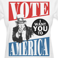 Design ~ Uncle Sam wants you to VOTE