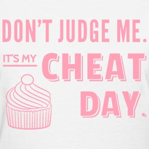 Cheat Day Cupcake Diet Women's T-Shirts - Women's T-Shirt