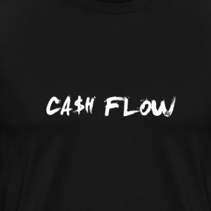 Classic Cash Flow Logo Tee - Men's Premium T-Shirt