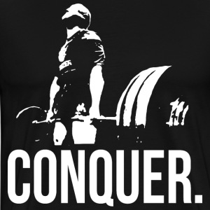 CONQUER - Deadlift T-Shirts - Men's Premium T-Shirt