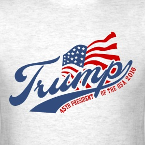 45th President Trump T-Shirts - Men's T-Shirt
