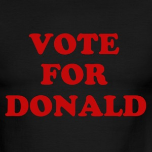 Trump 2016 Vote for Donald - Men's Ringer T-Shirt