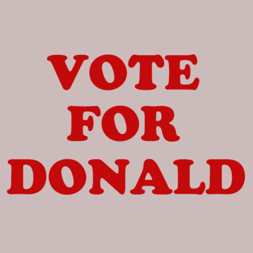 Vote For Donlad