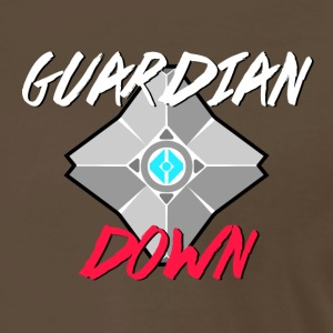 Guardian Down Podcast Logo (Front Small) - Men's Premium T-Shirt