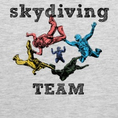 skydivers Tank Tops