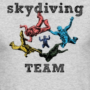 skydivers Long Sleeve Shirts - Men's Long Sleeve T-Shirt by Next Level