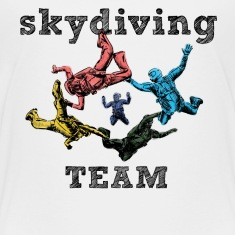 skydivers Baby & Toddler Shirts