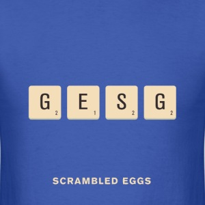 Scramble pun t shirt - Men's T-Shirt