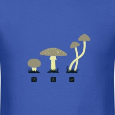 Mushrooms and shrooms t shirt