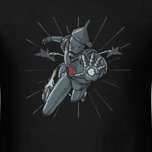 Tin man parody t shirt - Men's T-Shirt