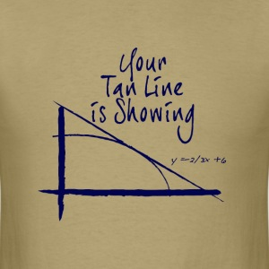 Math geometry humor t shirt - Men's T-Shirt