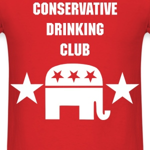 Conservative Drinking Club - Men's T-Shirt