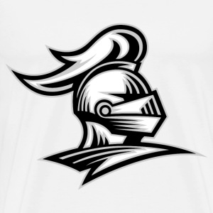 Knight Helmet - Men's Premium T-Shirt