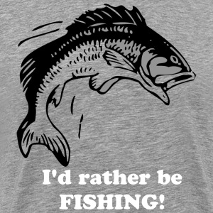 Leaping Fish - Men's Premium T-Shirt